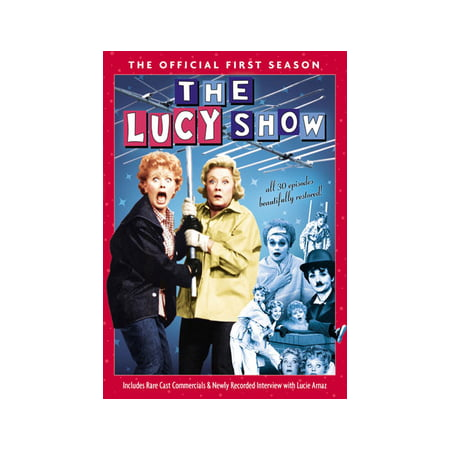 The Lucy Show: The Official First Season (DVD) (Bob And Tom Halloween Candy)