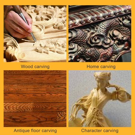 Electric Woodworking Carving Tool Wood Carving Chisel Slotting Carving Chisel Carving Pen - image 3 de 7