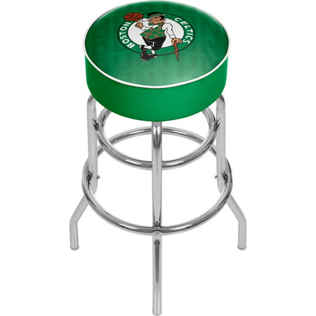 NBA Padded Swivel Bar Stool - City - Boston Celtics