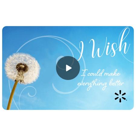 Dandelion Wish Walmart eGift Card