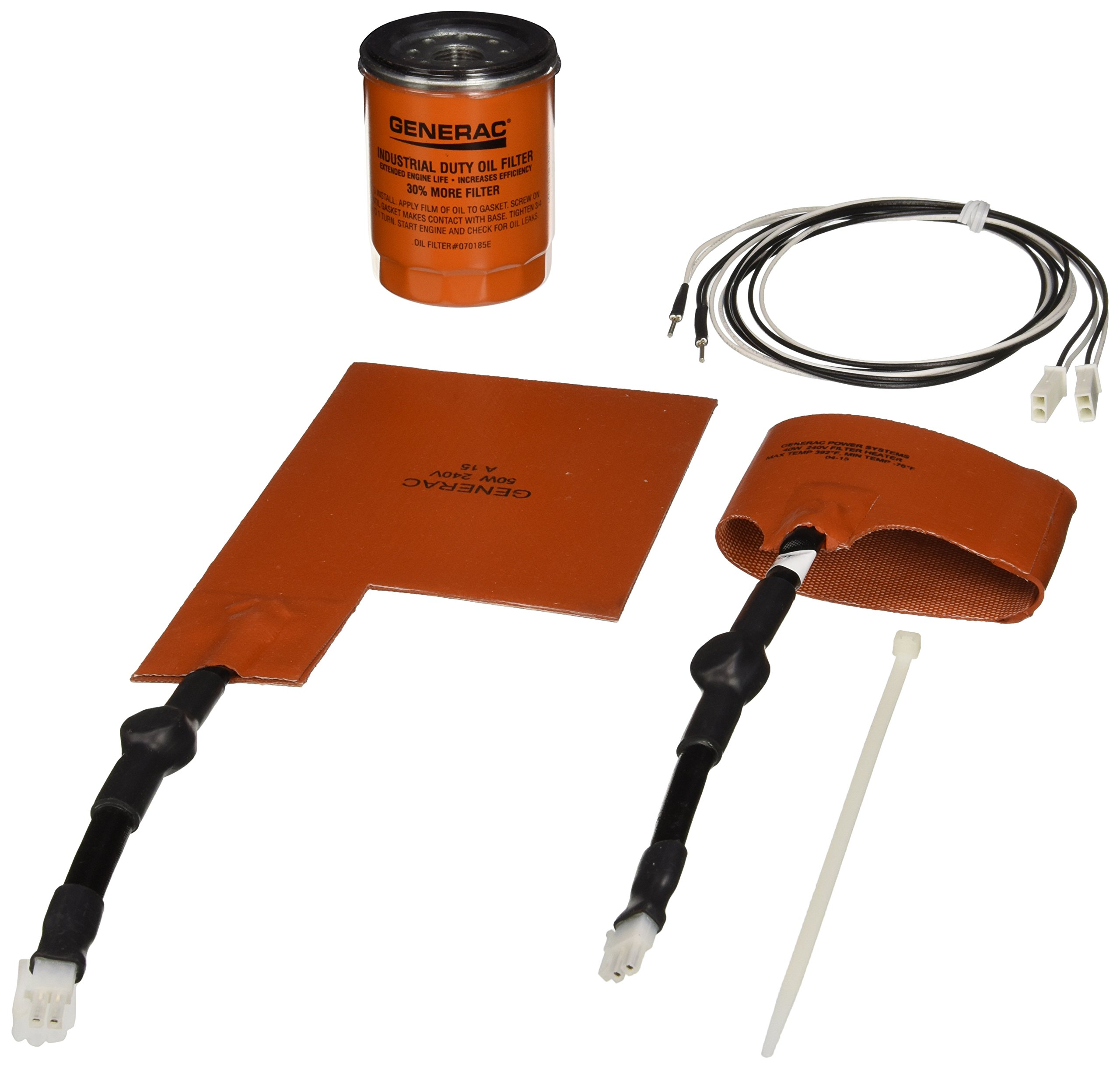 Generac 6212 - Cold Weather Kit for Air-Cooled Home Standby Generators (Discontinued by Manufacturer)