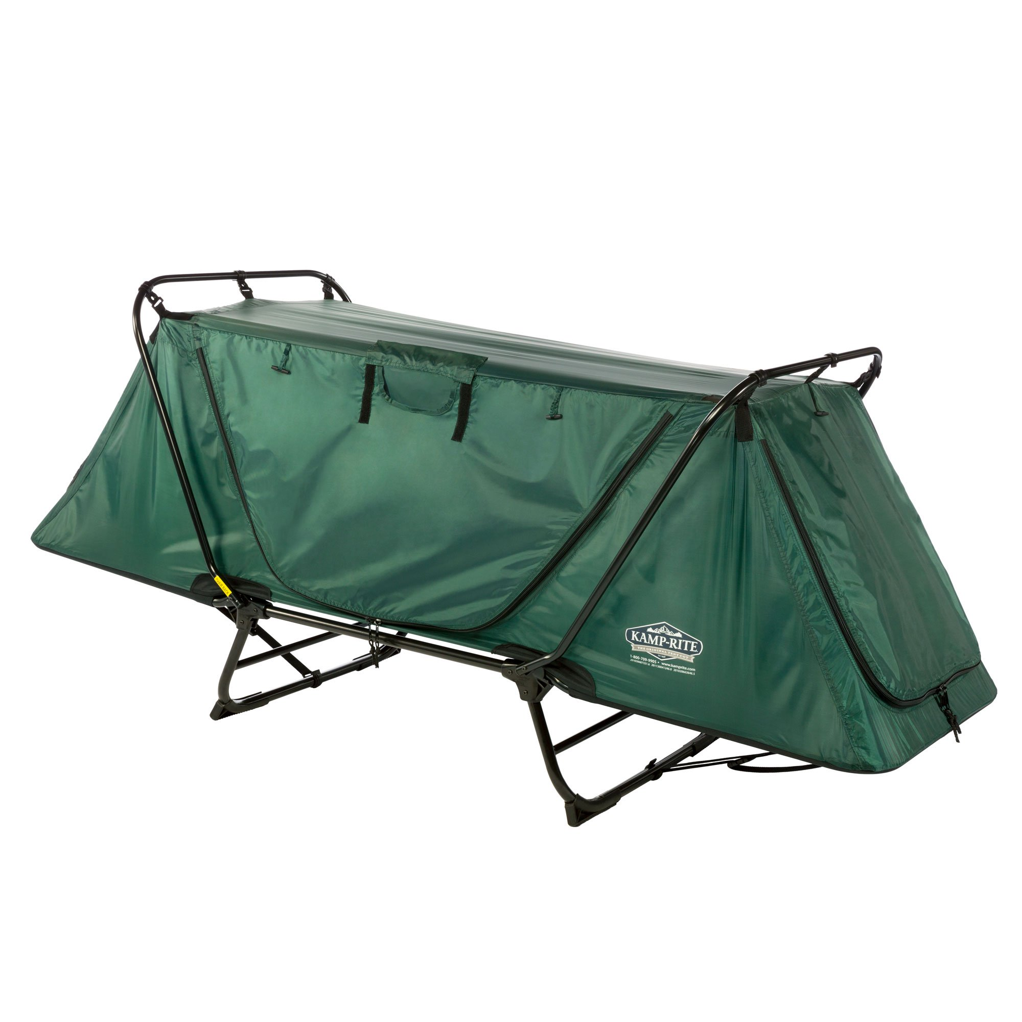 Kamp-Rite Original Tent Cot Folding Outdoor Camping & Hiking Bed for 1 Person