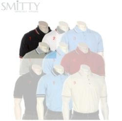 Smitty Umpire Shirt - Placket - Short Sleeve - Navy - M