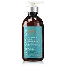 Hair Styling: Moroccanoil Intense Curl Cream