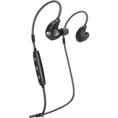 MEE audio X7 Plus Stereo Bluetooth Wireless Sports In-Ear HD Headphones  with Memory Wire and Headset