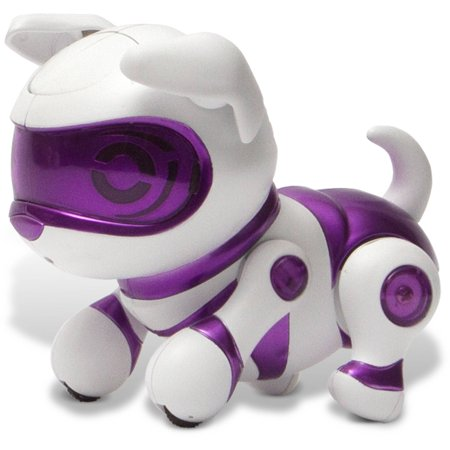 Tekno Robotic Pets  Newborn Puppy  Purple