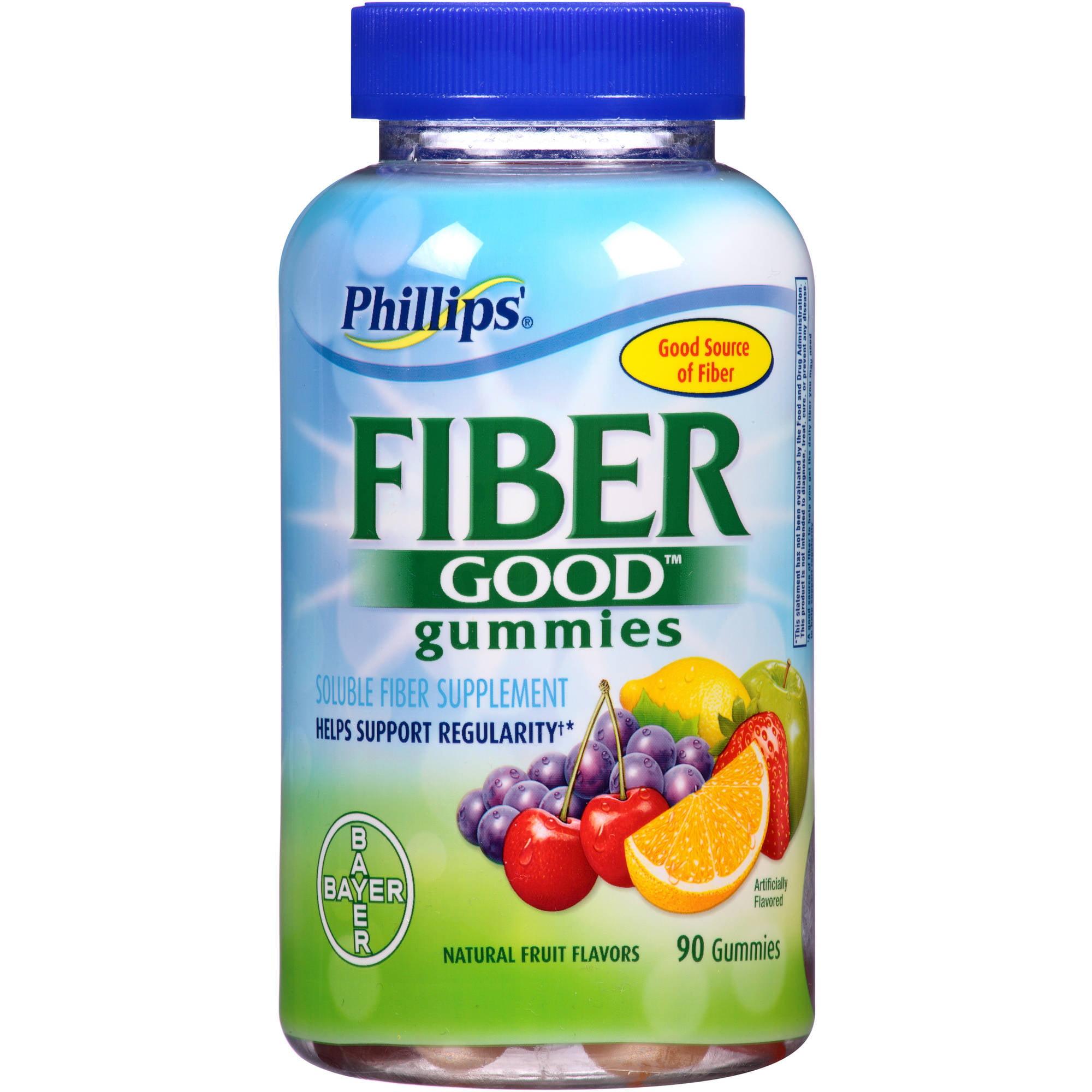 Phillips Fiber Good Gummies Fiber Supplement, 90 count