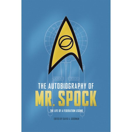 The Autobiography of Mr. - Mr Spock Uniform
