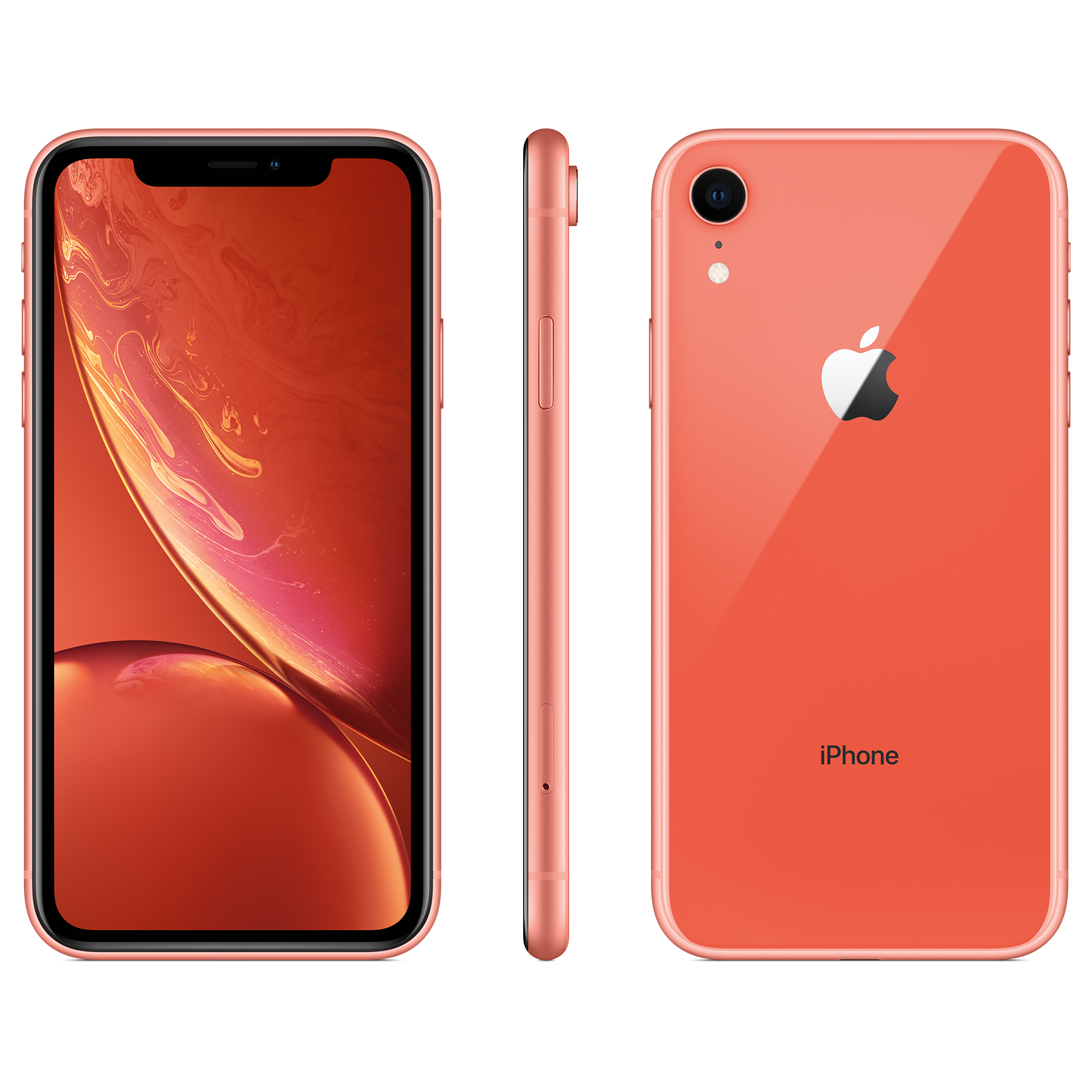 Walmart Family Mobile Apple iPhone XR w/64GB, Coral