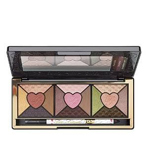 Too Faced Love Eye Shadow Palette Plus Black Waterproof
