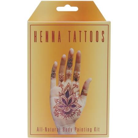 Earth Henna Body Painting Kit- - Halloween Body Painting Nyc