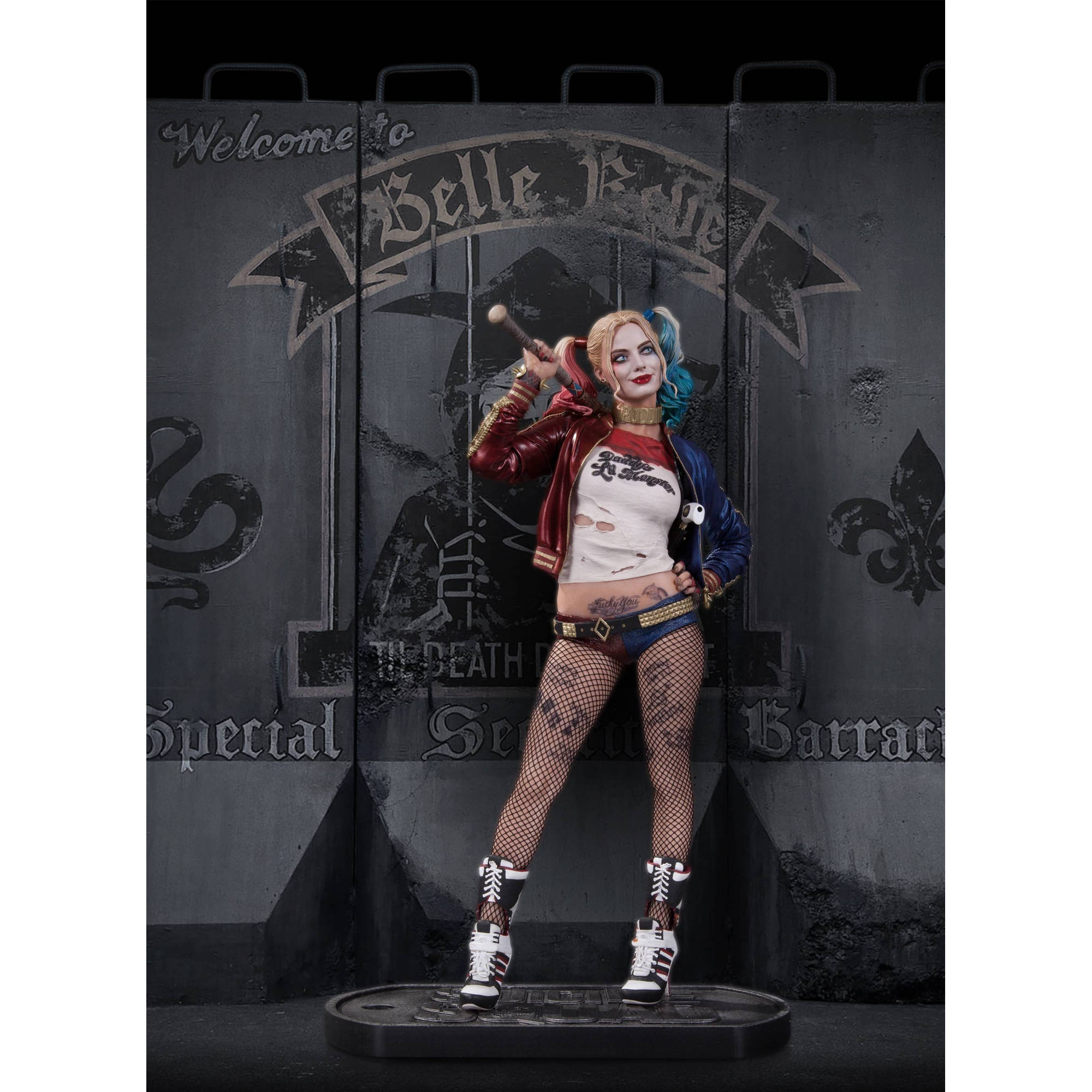 DC Comics Suicide Squad Harley Quinn Statue by Diamond Select Toys