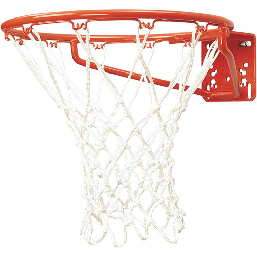 Front Mount Economy Goal Basketball System