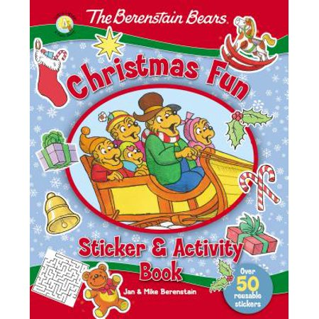 Berenstain Bears/Living Lights: The Berenstain Bears Christmas Fun Sticker and Activity Book (Paperback) - Christmas Activity Sheets