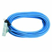 Voltec 05-00149 100 ft. SJEOW Blue Extension Cord Power Block With Lighted End, Case Of 2