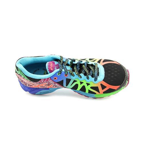 asics gel noosa tri 9 womens size 9 multi colored running