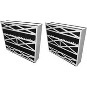 20x25x5 (19.75x24.25x4.75) Carbon Odor Block Aftermarket Totaline Replacement Filter (2 Pack)