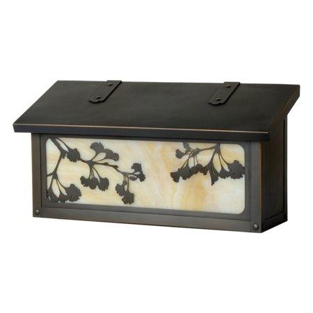 Americas Finest Lighting Gingko Horizontal Mailbox