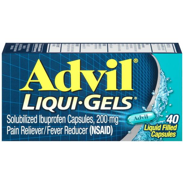 Advil Liqui-Gels 40s Size 40s Advil Liqui-Gels *P* 40s Ea
