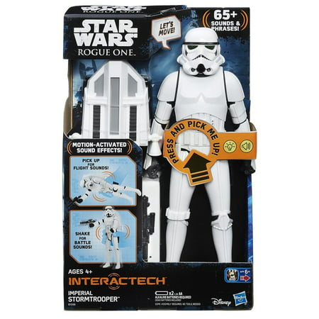 Star Wars Interactech Imperial Stormtrooper Figure 1 6th Figures