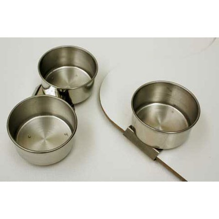 Art Alternatives - Stainless Steel Palette Cup - Single Palette Cup - Small, 1-5/8