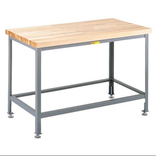 LITTLE GIANT WT-3060-LL Workbench, Wood, Levelers,32-35Hx60Wx30D G0473195