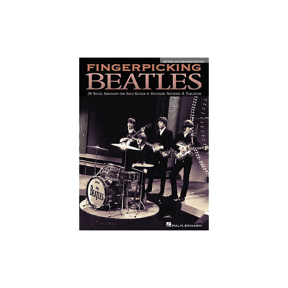Hal Leonard Fingerpicking Beatles Guitar Tab Songbook Revised