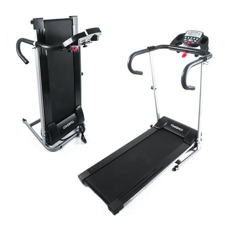TOMSHOO 500W Foldable Electric Treadmill Running Jogging Machine