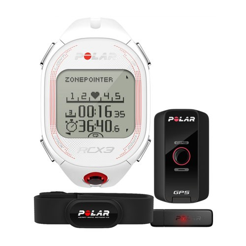 Polar RCX3 GPS White