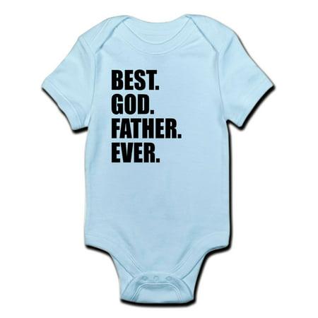 CafePress - Best Godfather Ever Body Suit - Baby Light (Dark Cloud 2 Best Weapons)