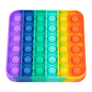 Square Push Pop It Sensory Fidget Toys Stress Relieve Fidgetget for Anxiety Relief Educational Toys for Special Needs Kids and Family, Perfect Sensory Fidget for Autistic, ADHD, Autism to