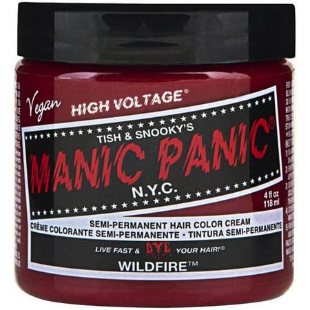 Manic Panic Semi-Permanent Hair Color Cream, Wildfire 4