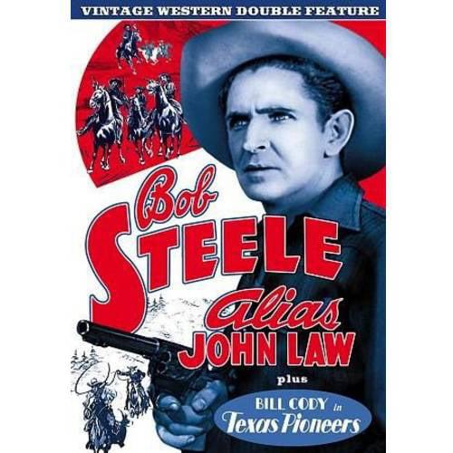 Vintage Western Double Feature: Alias John Law / Texas Pioneers