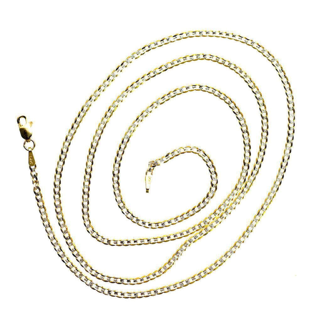 Solid 14K Yellow Gold Mens Italy Cuban Link Chain 9.83 gram 5.1 mm Necklace 26 inches by J&H Jewelers