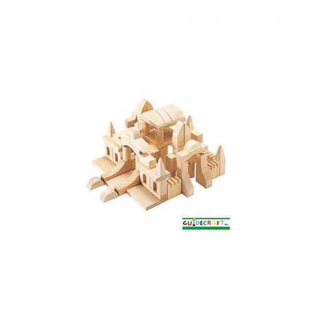 Guidecraft Tabletop Start Building Blocks Set