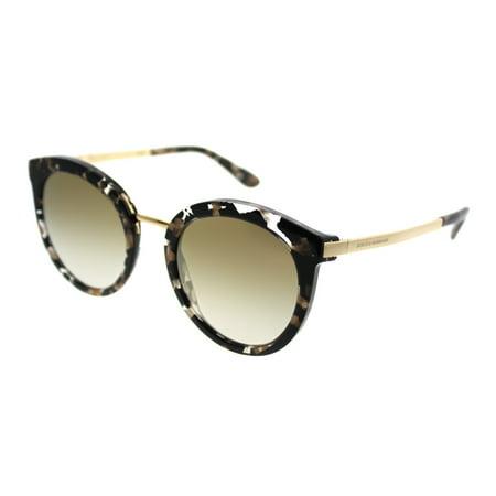Dolce & Gabbana 0DG4268 911/6E Women's Round Sunglasses