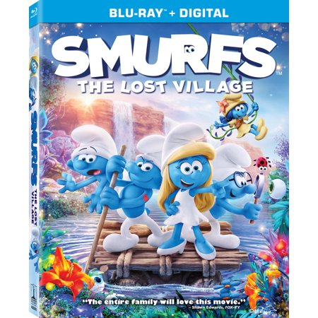 The Smurfs Halloween (Smurfs: The Lost Village (Blu-ray +)
