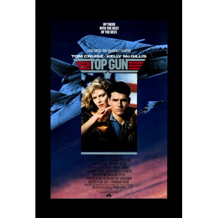 Top Gun (1986) 27x40 Movie Poster (Guy Movie Poster)