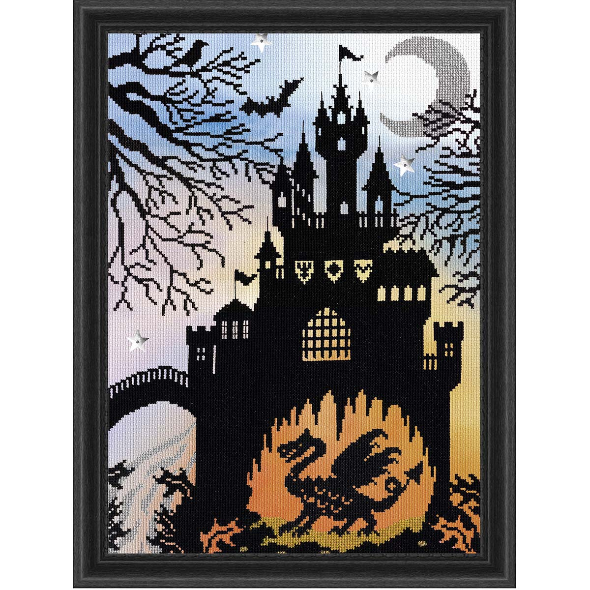Bothy Threads Dragon Castle Counted Cross-Stitch Kit