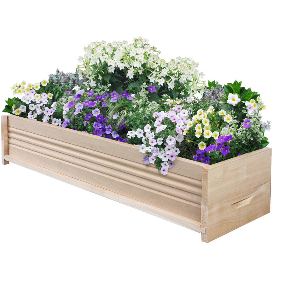 "Greenes Fence 36""L Cedar Planter Box"
