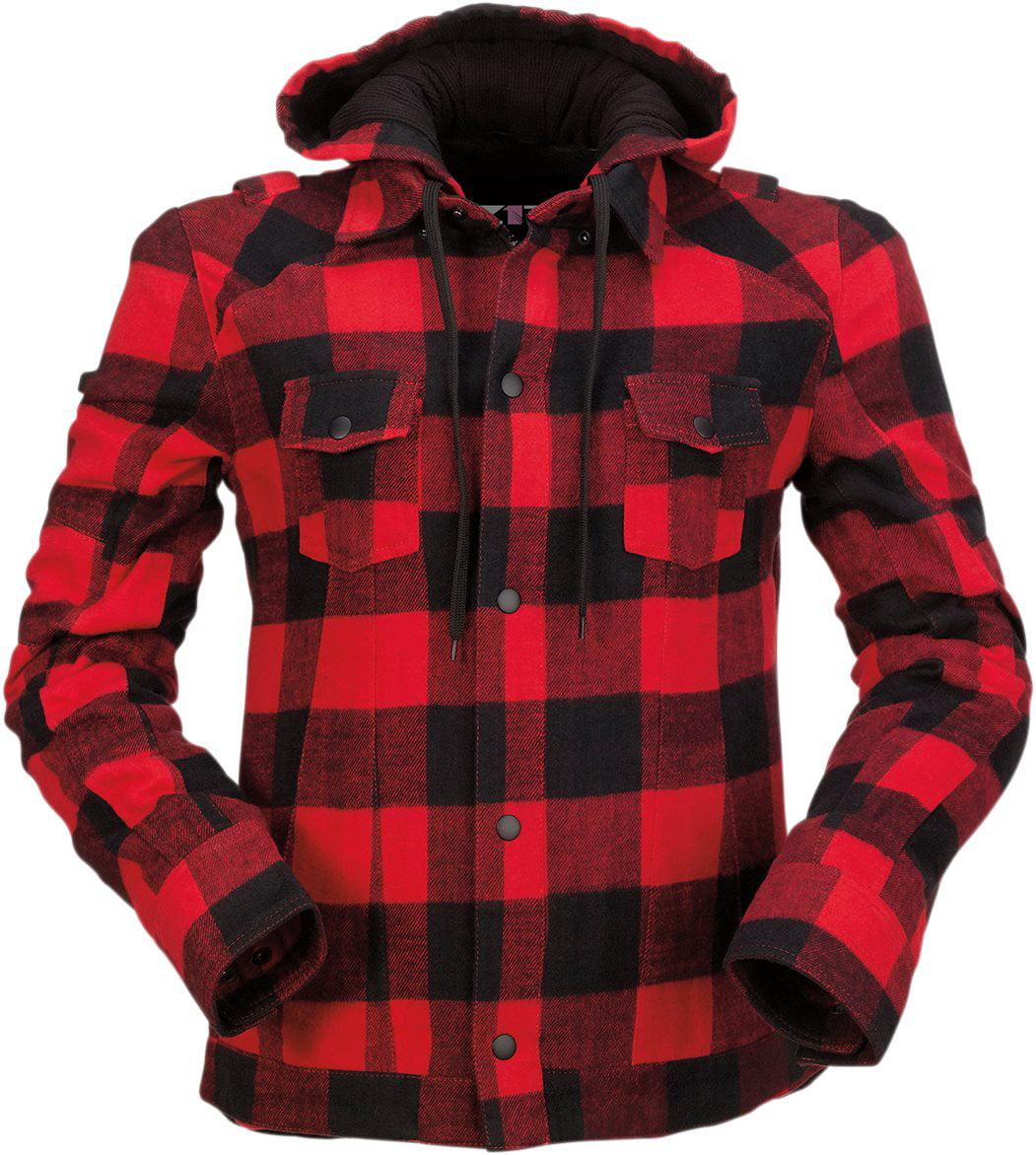 Choose Size Black Z1R Men/'s Long Sleeve Cotton Denim Motorcycle Riding Shirt
