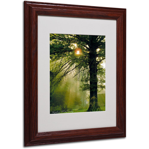 Trademark Art 'Magical Tree' Matted Framed Art by Kathie McCurdy