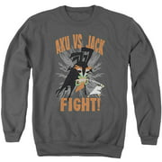 Samurai Jack Jack Vs Aku Mens Crewneck Sweatshirt