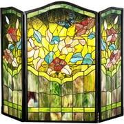 27237 Butterfly Folding Fireplace Screen