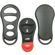 Keyless2Go New Replacement Shell Case Button Pad for Remote Key Fob GQ43VT17T GQ43VT9T GQ43VT13T - SHELL ONLY