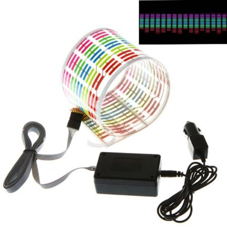 Car Rhythm Light Flash Sound Docooler Led Sticker Music Lamp mN80vnw