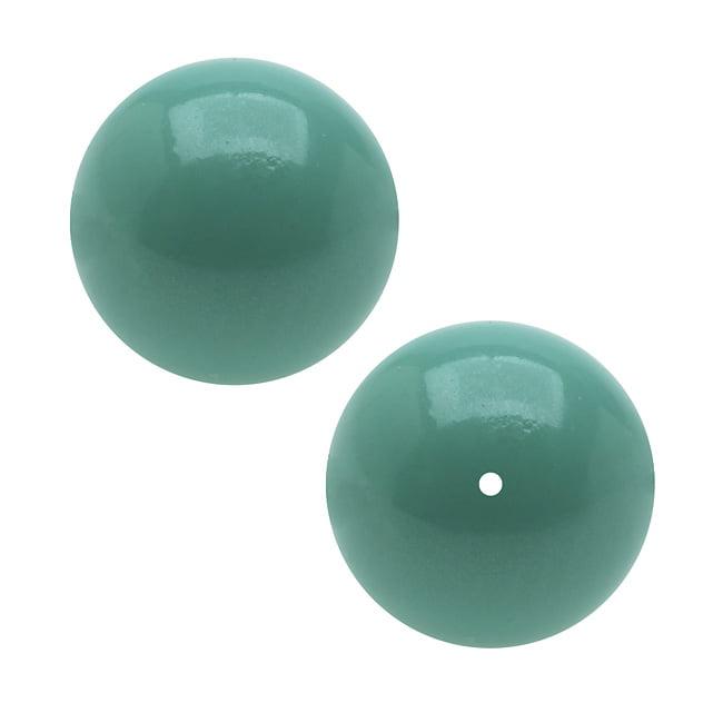 Swarovski Crystal, #5810 Round Faux Pearl Beads 8mm, 25 Pieces, Jade