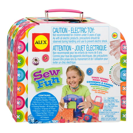 - ALEX Toys Craft Sew Fun Craft Kit With Sewing Machine