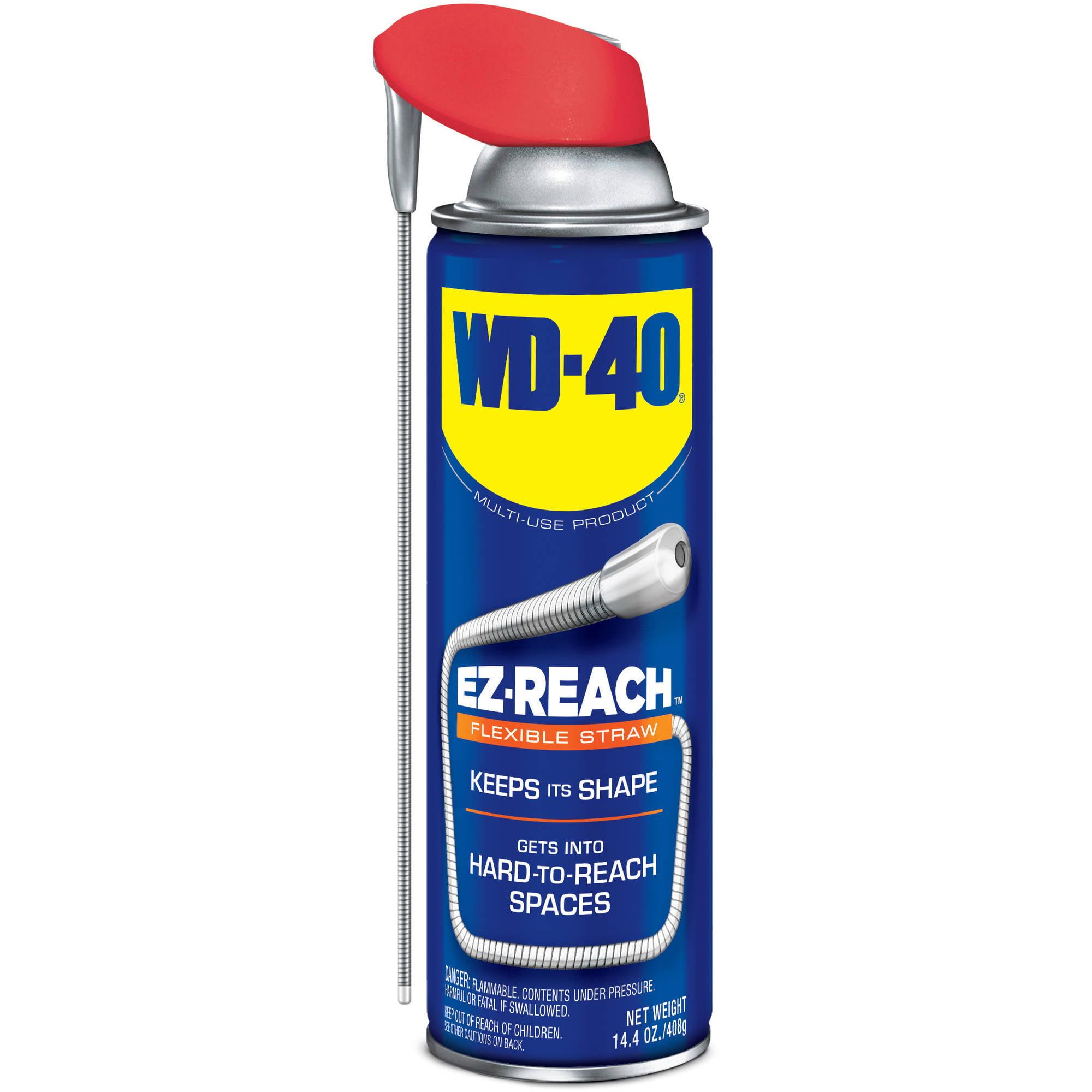 WD-40 14.4 oz EZ-REACH with Flexible Straw
