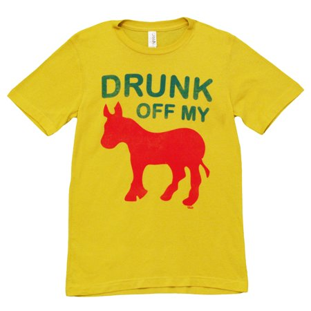 Drunk Off My Ass Funny Beer Alcohol Adult T-Shirt